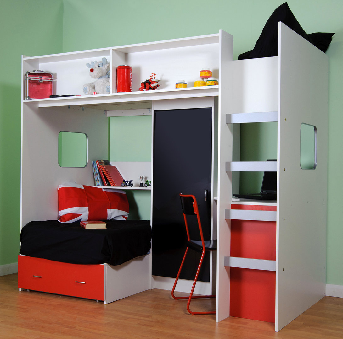 Roland Childrens High Sleeper Loft Bed