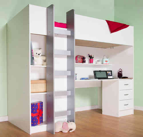 ... Christchurch High Sleeper Bed White